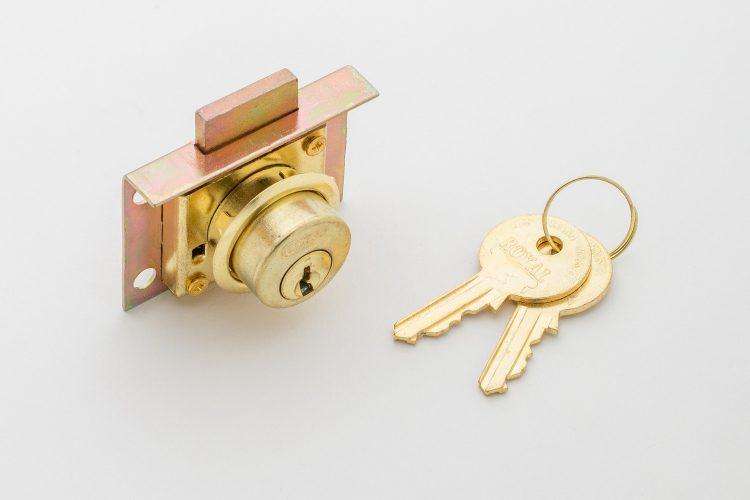 กุญแจล็อคลิ้นชัก R708